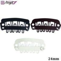 Quality U Tip Metal Snap Clips with Silicone Back for Clip In Hair Extensions/Weft/Wig Tools wholesale