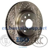 China Car Parts Brake Disc Iron Wear Resistant No Noise Brake System for Lexus on sale