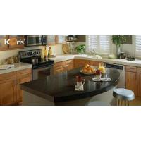 Quality Best Bathroom Artificial Marble Solid Surface Countertops with Built in Sinks wholesale