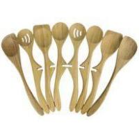 Quality Left-handed Applicable Custom Bamboo Lazy Spoon Set wholesale
