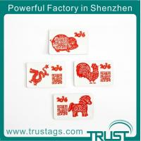 Quality Wholesale Silk Printing RFID Anti-metal Tag/adhesive Sticker With Chinese Zodiac wholesale