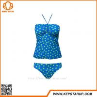Quality Cheap Beachwear Girls Lovely Spot Two Piece Monokini Women Halter Sexy Swimwear wholesale