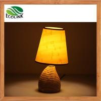 Buy cheap Bamboo Table Lamp Bedside Desk Lamp from wholesalers