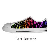Buy cheap Custom Abstract Pattern Canvas Shoes Comfortable Sneakers from wholesalers