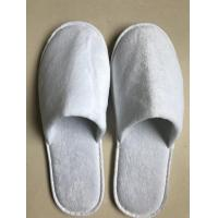 China Disposable Hotel Guest Spa Coral Slippers on sale