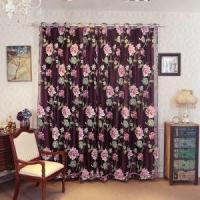 Quality SINOGEM Brand Drapes Sheer Window Curtains for Living Room The Bedroom Kitchen Modern Tulle Curtains wholesale