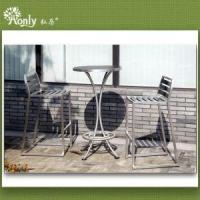 China Cafe Furniture High Bar Table and Chairs Set on sale