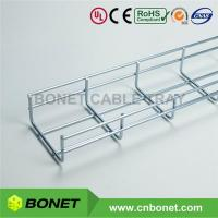 China 100x50x3m 4 Inch Electro Zinc Galvanised Wire Mesh Cable Tray on sale
