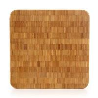 Quality Extra Large Bamboo End Grain Butcher Block Cutting Board 12x12 Thick Strong for Kitchen Use wholesale
