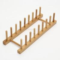 Quality Bamboo Dish Holder and Kitchen Plate Rack and Large Dish Rack and Chopping Board Holder wholesale