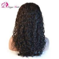 Buy cheap china High Quality 130%-200% Density Lace Front Wig with Baby Hair Water Wave 7A Indian Human Hair W from wholesalers