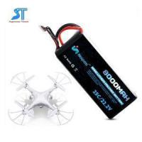 Buy cheap Agricultural Plant Protection UAV Drone Lipo Battery 22.2V 8000mAh With 2S 3S 4S 5S 6S from wholesalers