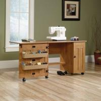 China Sewing / Craft Table - Amber Pine finish on sale