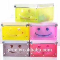 China Small Clear Acrylic Gift Boxes With Lid Design on sale