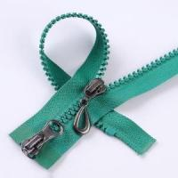 Buy cheap 5 Plastic Zipper Two-way Open-end with A/L Slider from wholesalers