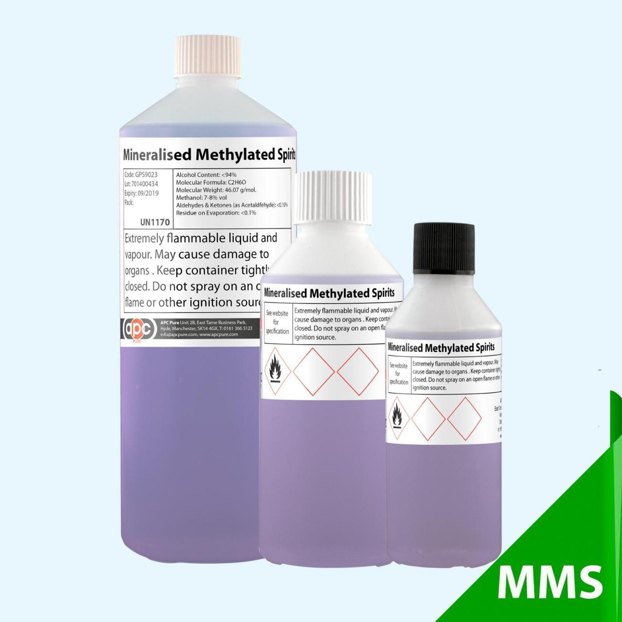 Quality Mineralised Methylated Spirits (Completely Denatured Ethanol) wholesale