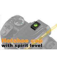 China Spirit Level Hot Shoe Protect Cover Cap For Canon Nikon on sale