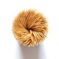 Quality Plain Bulk Food Fancy Bamboo Disposable Toothpicks Bottle Packing Doble Points Chinese Facotry Manuf wholesale