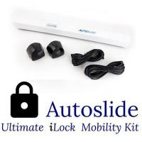 Quality Autoslide iLock Automatic Patio Door Opener Hardwired Infrared Door Kit - White Colored Finish wholesale