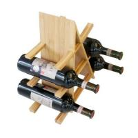 China Bamboo Red Wine Rack on sale