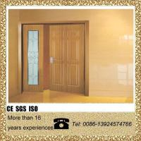 China decorative glass aluminum swinging door on sale