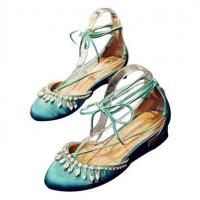 China hot sale stylish L065388 pure handmade round-toe sandals for women on sale