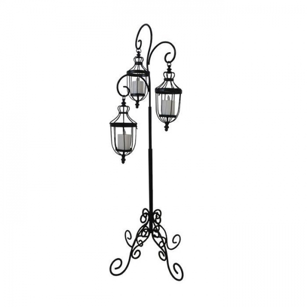 Cheap Metal lantern stand Decoration for sale