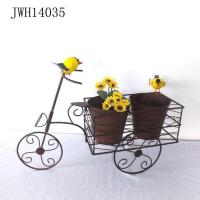Quality Metal Tricycle Planter Vintage Decorate Outdoor And Indoor wholesale
