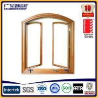 Quality Australia Type Aluminium Simple Awning Window with Crank Handle and Fixed Fly Screen wholesale