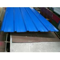 China Color Painted Gi Corrugated Metal Roofing Sheets Prices on sale