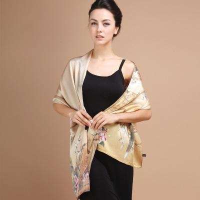 Cheap New Cutting 100%Silk Scarves for sale