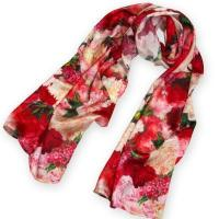 Buy cheap Fashion Digital Printing Lady's Silk Scarf China from wholesalers