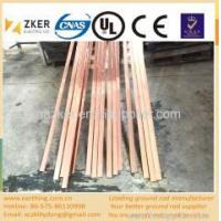 Buy cheap electoplating copper clad steel flat bar product