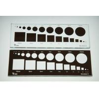 Buy cheap DINNAR  Round and square calibration plate from wholesalers