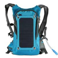 Buy cheap KUNDUI High quality 5V Solar Panel Battery Charging Travel Backpack USB Output Charger product