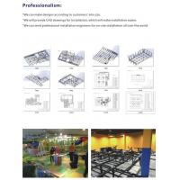 Quality Amusement Park Sports Indoor Playground Trampoline Games for Teenagers wholesale