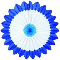 China Easter Light Blue/White/Dark Blue Fan Burst - Product #5397-5 on sale