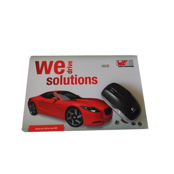China Factory Direct Customized Natural Rubber Mouse Pad for Promotion