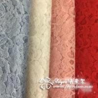 Buy cheap Lace fabric, used for fashion clothes, ladies' garments, stage clothes from wholesalers