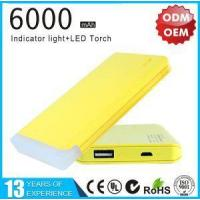 Buy cheap On Sale 6000mAh Portable Power Bank Charger product