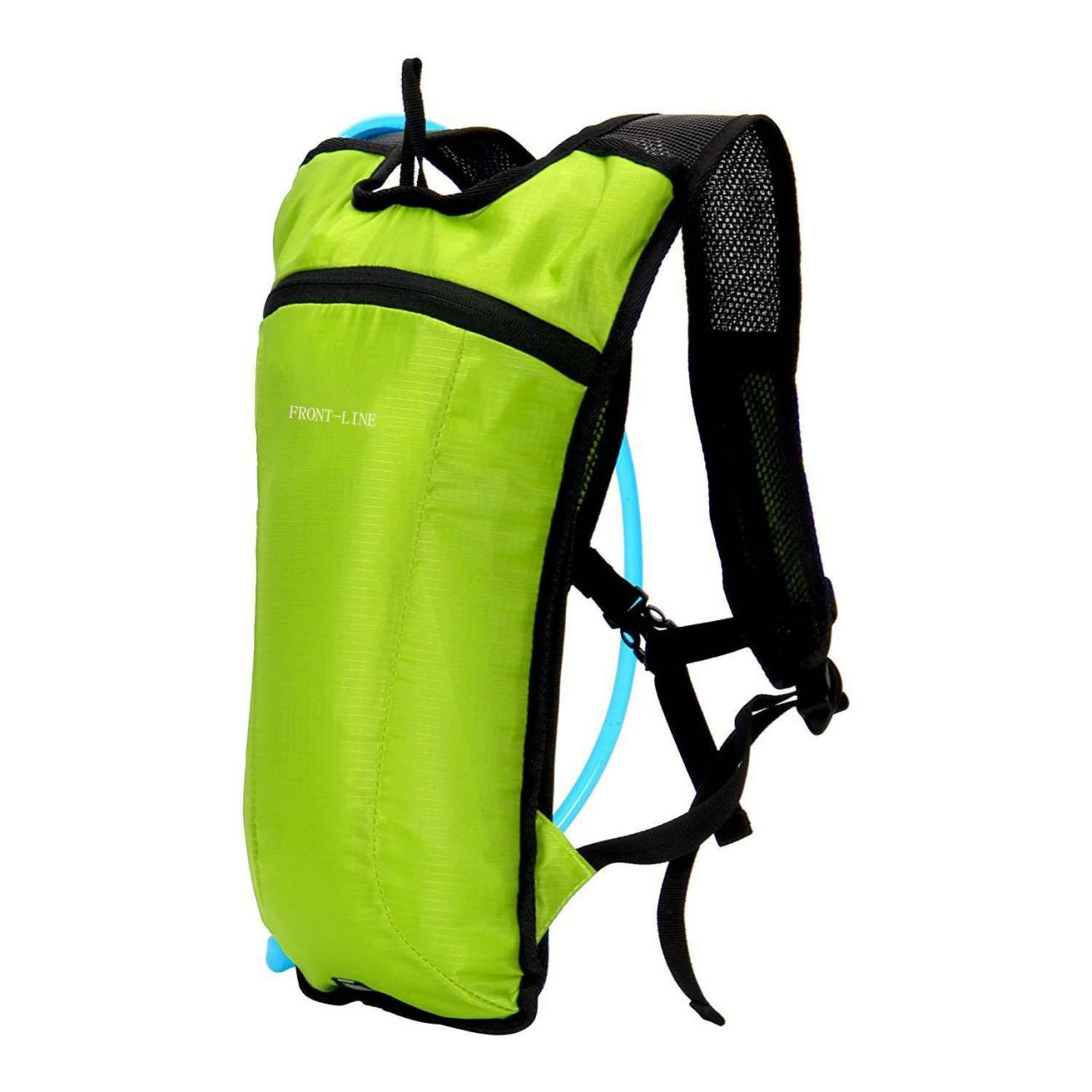 China Hydration Pack with 2L Water Bladder-Apple Green on sale