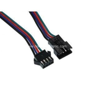 China JST SM 4 Pin Connector Jumper Wire