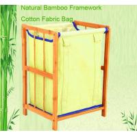 Quality bamboo laundry stand laundry basket wholesale