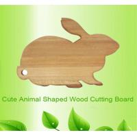 Quality animal rabbit shape wooden chopping board cutting board wholesale
