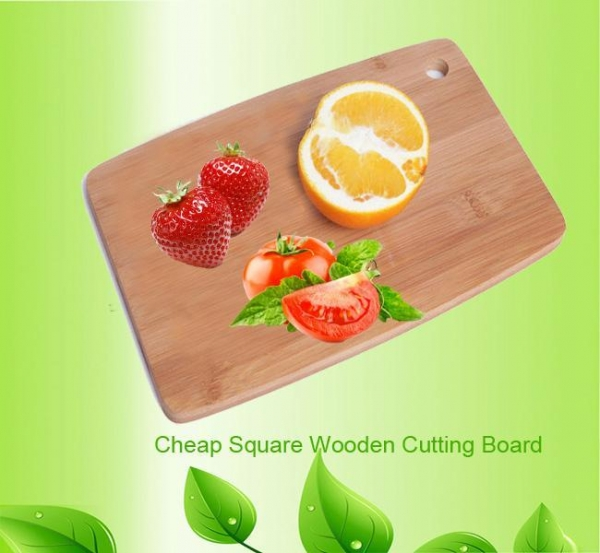 Cheap cheap wooden cutting board square wood chopping board for sale
