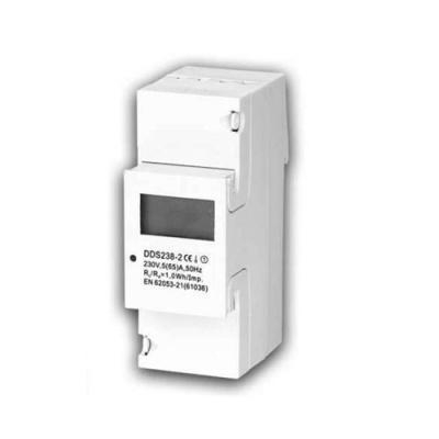 Cheap DDS238-2 Single Phase Din-rail Mount(Multifucntion) Digital Power Meter for sale