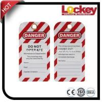 Quality Safety Lockout Tag for Industrial Safety PVC Tag wholesale