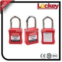 Buy cheap 38mm Steel Shackle Safety Padlock from wholesalers