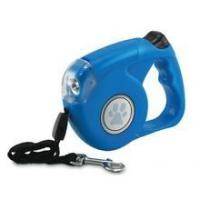 China Dog Leash Retractable With LED Light GIFT GUIDE on sale