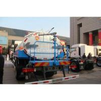 China HOWO 4X2 3000 gallon water tank for truck on sale